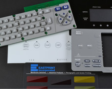 Rubber Keypad on PCB, Membrane Switches and Graphic Overlay Transparent Windows
