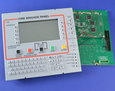 Tactile Silicone Rubber Keypad on PCB with Drive Electronics